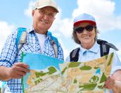 ouderen met kaart