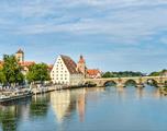 Regensburg langs de Donau