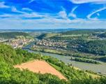 De Rijn luchtfoto