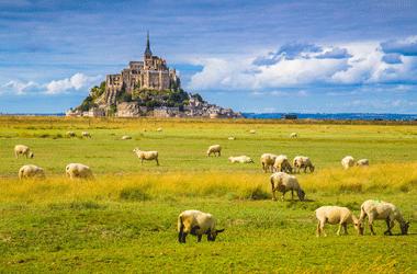 Normandie uitzicht