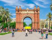 arc du triomf in barcelona