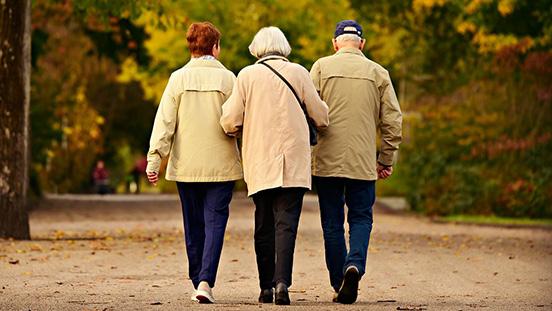 ouderen op reis